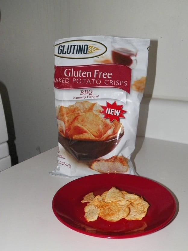Glutino BBQ Baked Potato Crisps