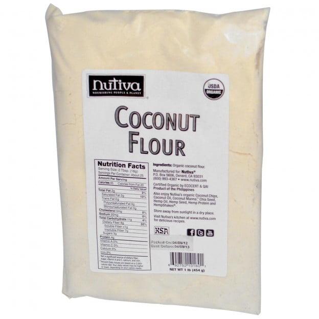 Bag of Nutiva Coconut Flour