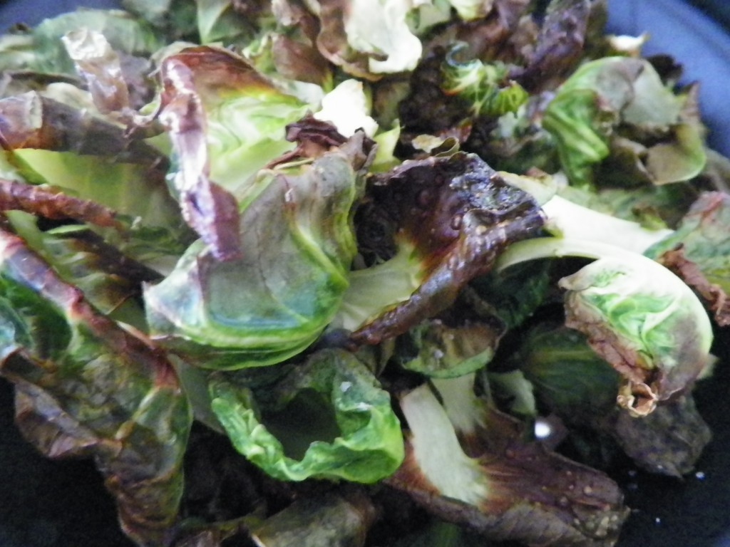 Gluten Free Healthy Brussels Sprouts Chips