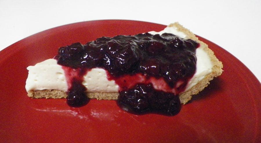 No Bake Cheesecake With Mrs. Glee's Gluten Free Graham Cracker Crust