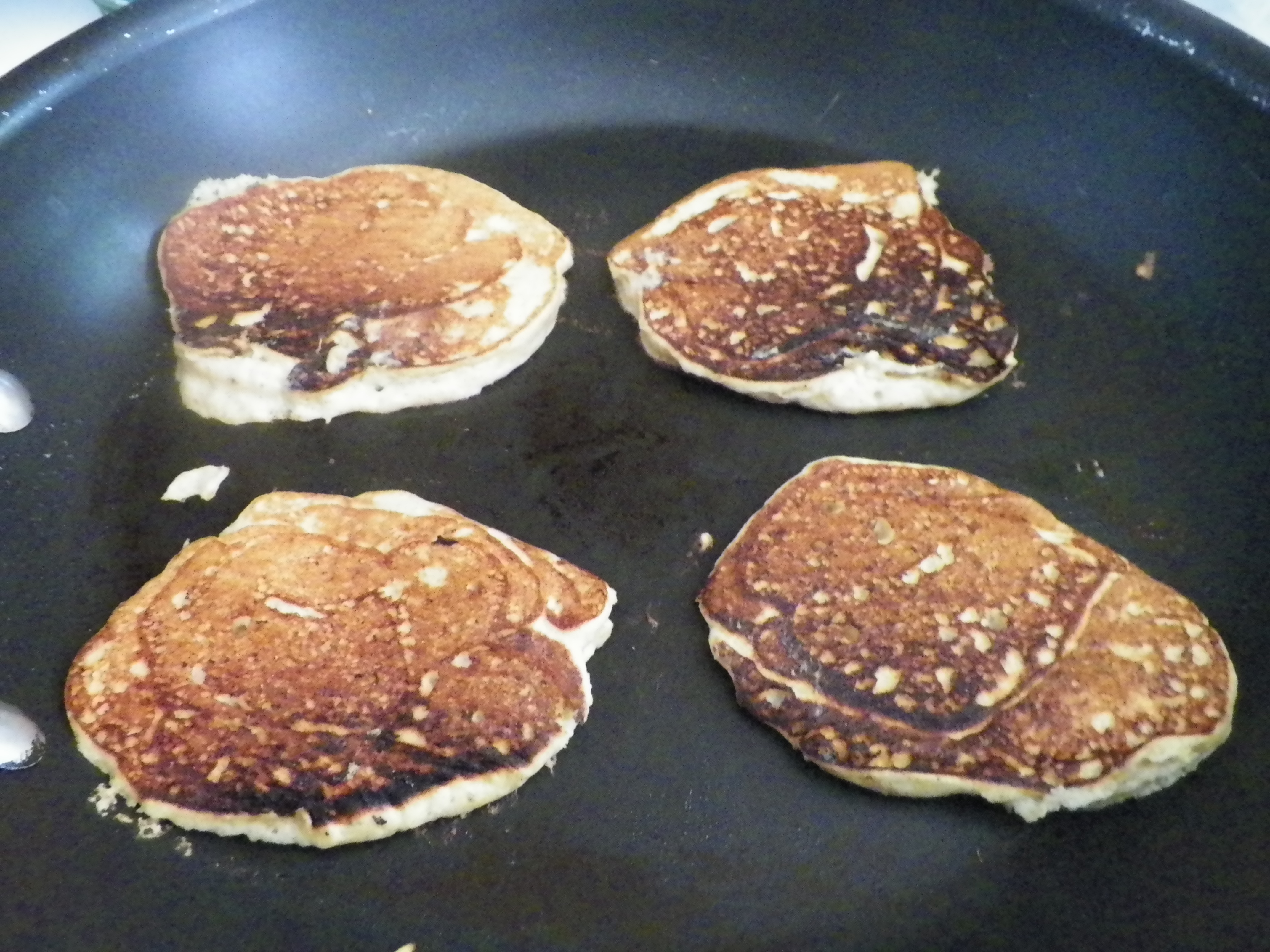 Gluten Free Plantain Banana Pancakes