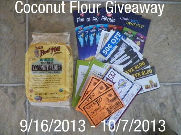 Coconut Flour Giveaway