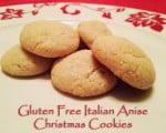 Gluten Free Italian Anise Cookies