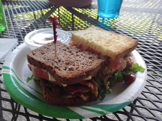 Birch Tree Cafe Sandwiches on Birch Tree Bakers Bread