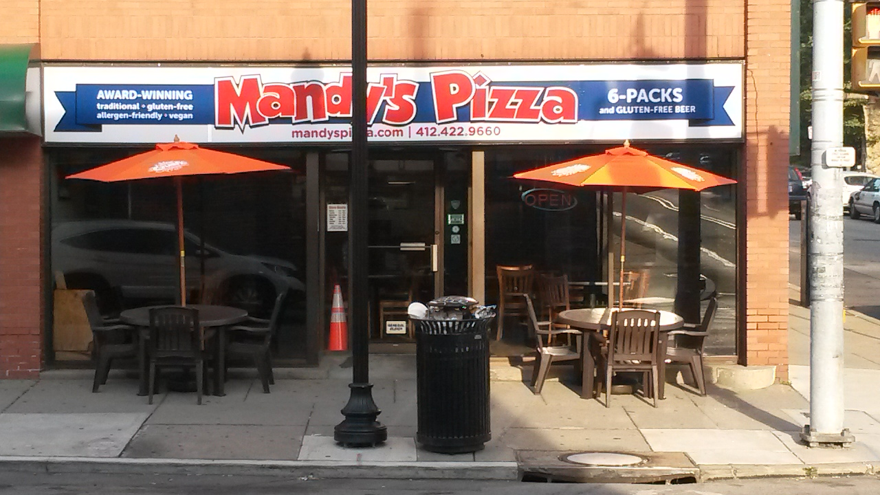 Mandy's Gluten Free Pizza And Subs Review ~ Pittsburgh Pennsylvania